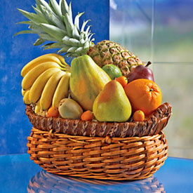 Fruit Basket, Mexico, Izucar de Matamoros-Puebla