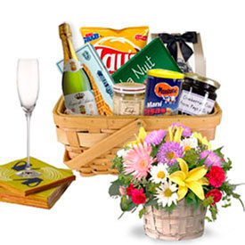 Flower and Gourmet Surprise